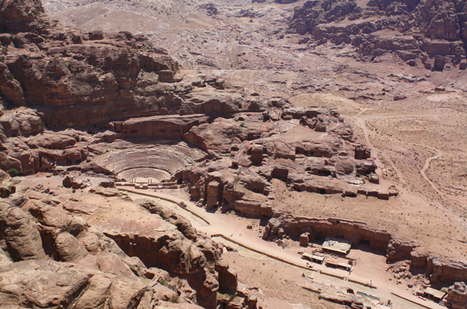 Sito Archeologico dall'alto Giordania