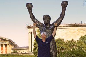 La Philadelphia di Rocky Enrico e la Statua