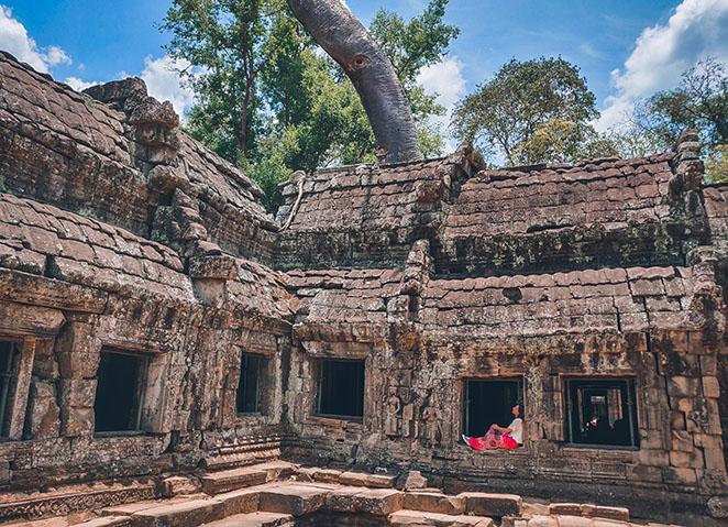 Viaggio-in-Vietnam-Cambogia-e-Singapore-Cambogia-tempio-di-taprohm-elisa