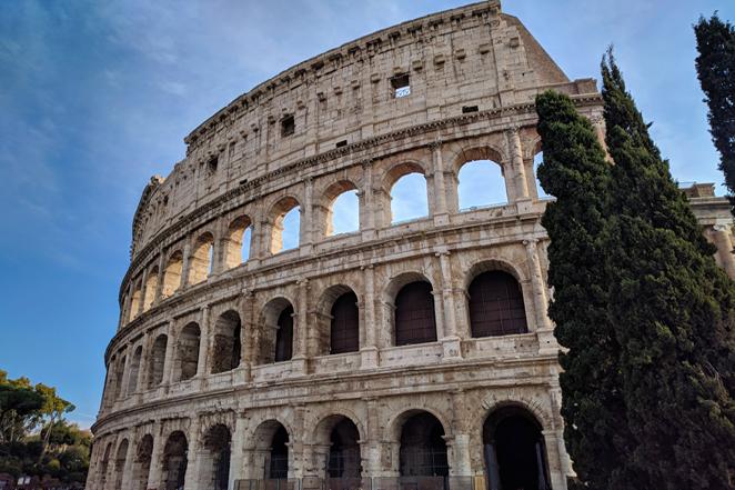 Il colosseo, 7 meraviglie del mondo moderno