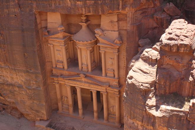 Petra, 7 meraviglie del mondo moderno